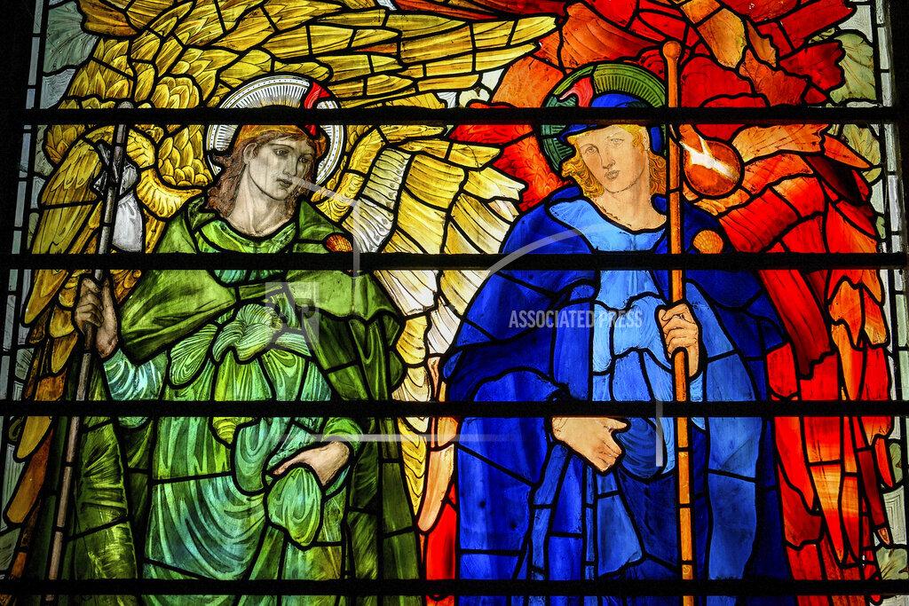 Restoration work at Salisbury Cathedral