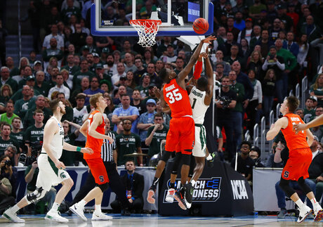 NCAA Syracuse Michigan St Basketball