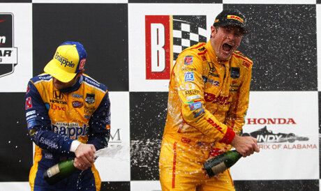 Andretti's runner-up sets stage for Indy races