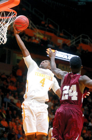 TENNESSEE VS TEXAS SOUTHERN TIGERS BASKETBALL