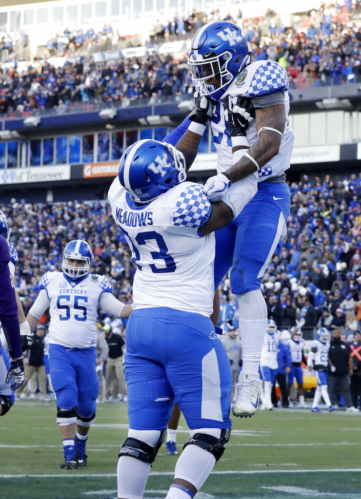 Benny Snell Jr, Kyle Meadows