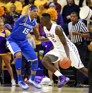 Kentucky LSU Basketball