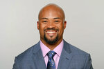 This photo provided by the New Orleans Saints shows Terry Fonetenot in an undated photo. The Atlanta Falcons named Terry Fontenot the team's general manager, Tuesday, Jan. 19, 2021. The 40-year-old Fontenot becomes Atlanta's first Black general manager after spending 18 seasons with division rival New Orleans. (Photo courtesy of the New Orleans Saints via AP)