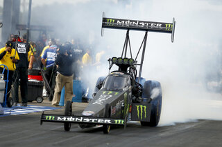 NHRA Brittany Force Crash