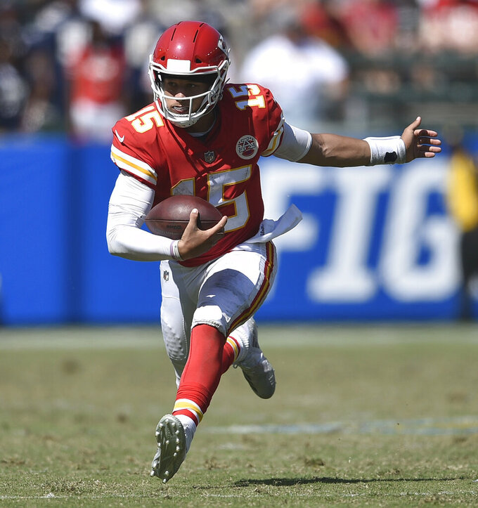 Kansas City Chiefs at Los Angeles Chargers 9/9/2018