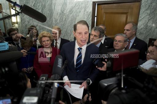 APTOPIX Senate Trump Cabinet
