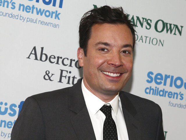 "FILE - In this May 23, 2017 file photo, Jimmy Fallon attends the SeriousFun Children's Network Gala at Pier Sixty in New York.  Fallon is heading to prime-time with a new NBC comedy-variety series called ""That's My Jam."" Fallon will host the show inspired by his popular, celebrity-studded musical segments on ""The Tonight Show.""  (Photo by Andy Kropa/Invision/AP, File)"