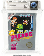 This undated photo provided by Heritage Auctions, shows an unopened copy of a 1987 cult-classic video game
