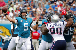 Patriots Jaguars Football