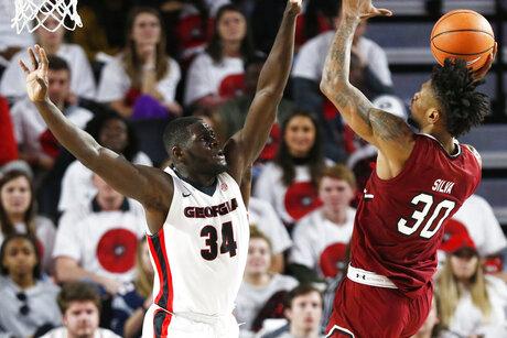 South Carolina Georgia Basketball