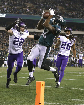APTOPIX Vikings Eagles Football