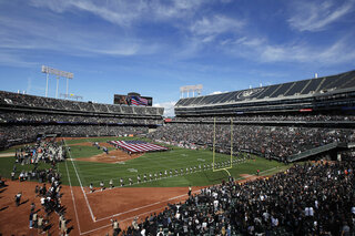 Raiders Oakland Farewell? Football