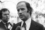FILE - In this Dec. 12, 1972 file photo, Joseph Biden, the newly-elected Democratic Senator from Delaware, is shown in Washington. (AP Photo/Henry Griffin)