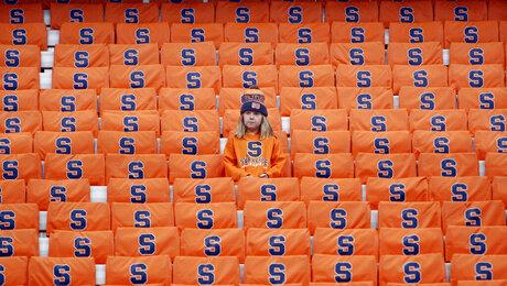 Syracuse fan, Gabrielle Wild