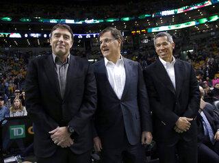 Wyc Grousbeck, Bob Higgins, Mark Wan