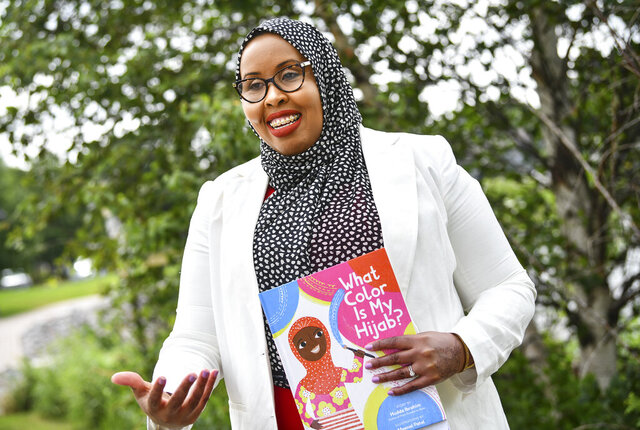 Hudda Ibrahim talks about her new children's book