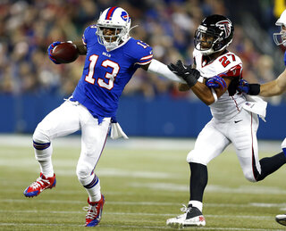 Stevie Johnson, Robert McClain