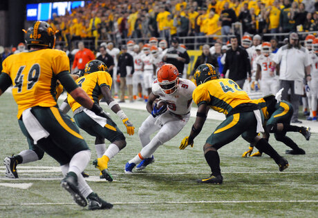 Sam Houston St North Dakota St Football