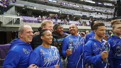 Super Bowl Giveaway Football
