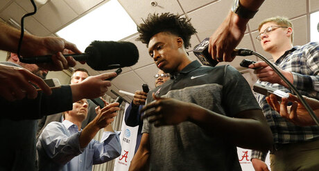 Alabama Sexton Draft BAsketball