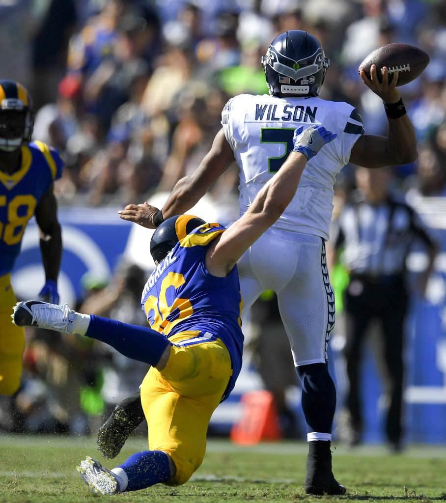 Seahawks Rams Football