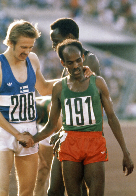 Ethiopia Obit Miruts Yifter