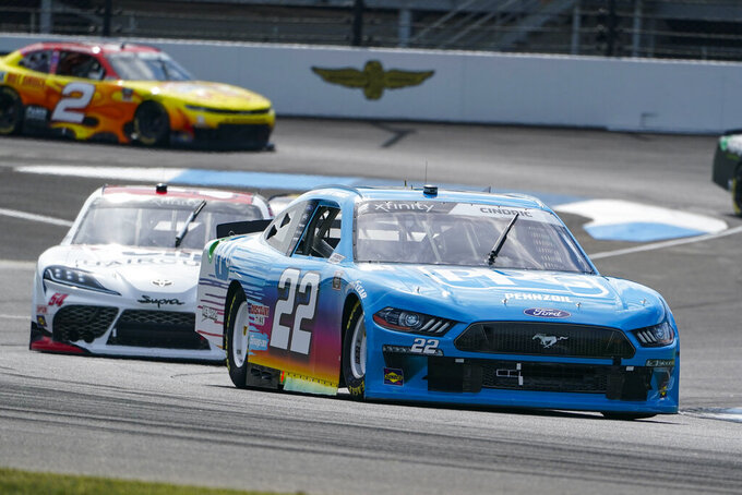 Cindric completes Team Penske sweep with Xfinity win at Indy