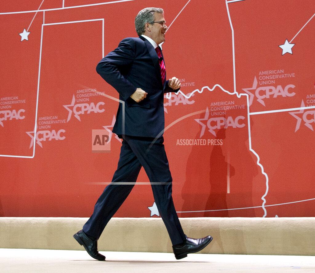 GOP 2016 CPAC Bush