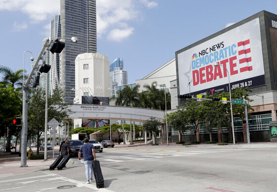 Election 2020 Debate Media