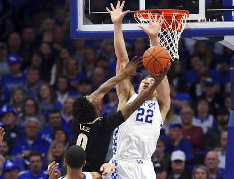 Vanderbilt Kentucky Basketball