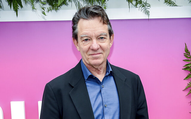 FILE - Lawrence Wright attends the Hulu 2017 Upfront Presentation on May 3, 2017, in New York. One of the first book-length inside accounts of the worldwide spread of COVID-19 will be coming out in June. Wright's