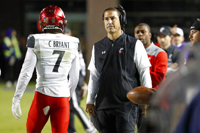 No. 17 Cincinnati wants to avoid another close call vs UConn