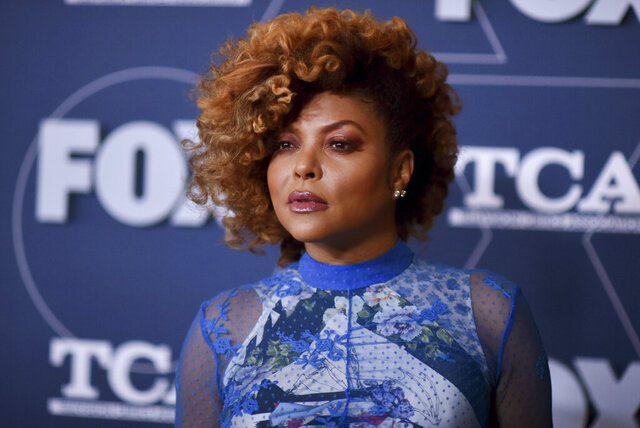FILE - Taraji P. Henson attends the FOX All Star party at the Television Critics Association Winter press tour on Jan. 7, 2020, in Pasadena, Calif. Henson will host a new podcast series focused on the story behind the New Jack Swing music era. Wondery and Universal Music Group announced Thursday, Oct. 15, 2020, that Henson will host