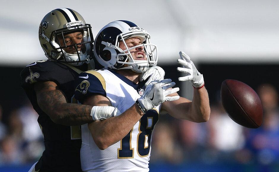 APTOPIX Saints Rams Football