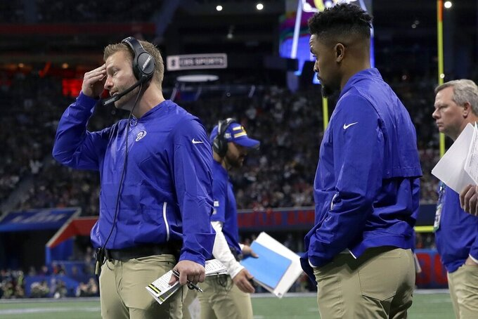 McVay looks to future after Rams' ride derails in Super Bowl