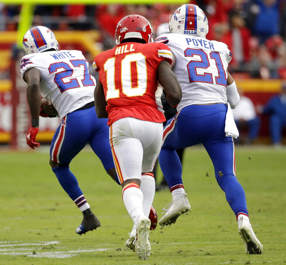 Tre'Davious White, Tyreek Hill