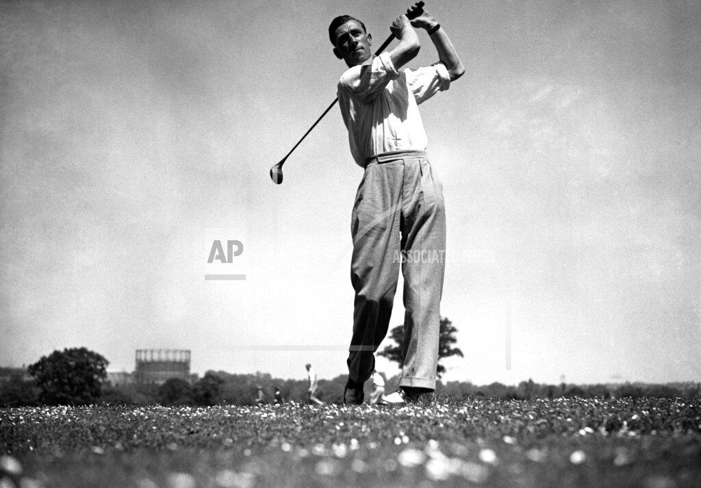 Watchf AP S GLF  GBR XEN APHSL14 Golfer Alf Padgham Dunlop Southern Golf Tournament 1935