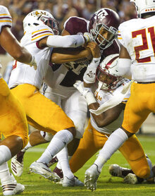Louisana Monroe Texas A M Football