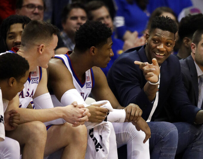 Kansas exploring appeal of NCAA punishment for De Sousa