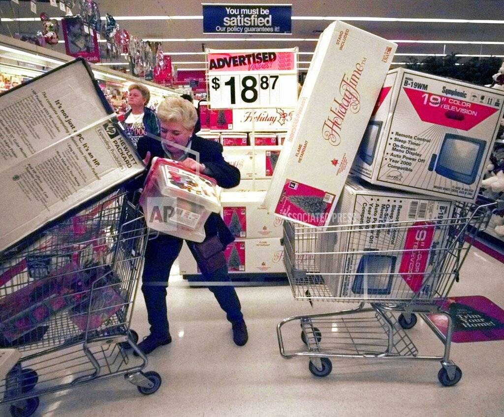 Associated Press Domestic News New Jersey United States HOLIDAY SHOPPING