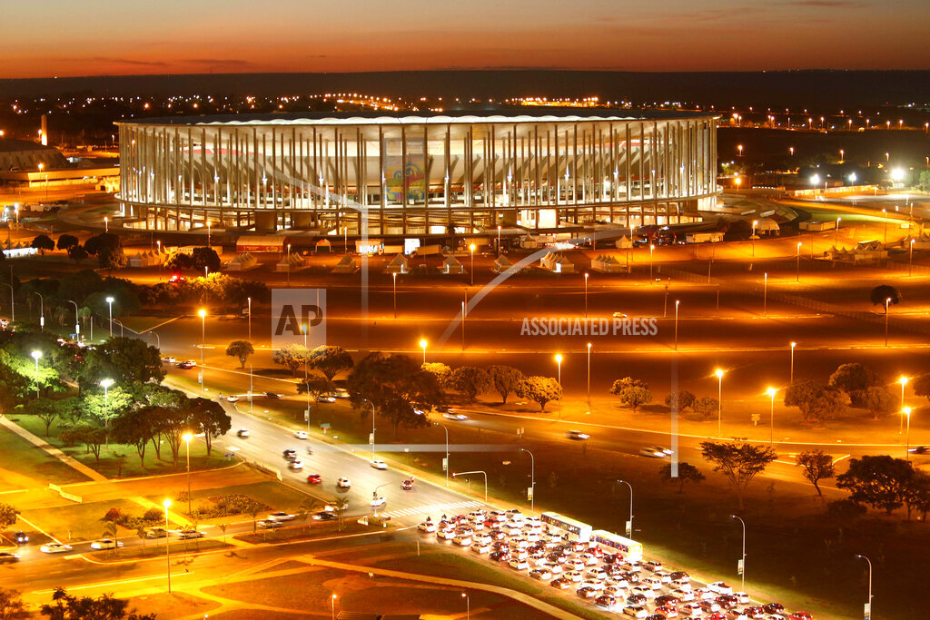 Brazil WCup Stadium White Elephants