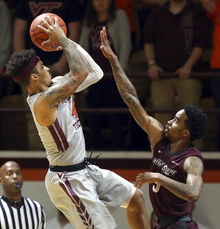 UMES Virginia Tech Basketball