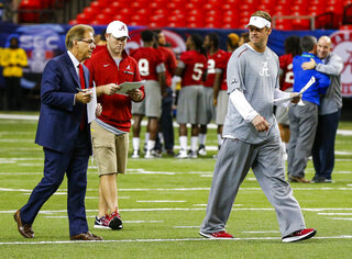 Lane Kiffin, Nick Saban