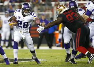 Adrian Peterson, Ian Williams