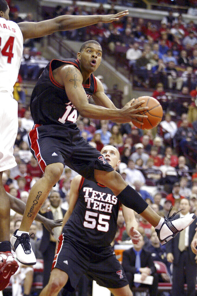 2nd man charged in death of ex-Texas Tech star Andre Emmett