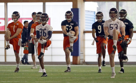 Bears Rookie Camp Football