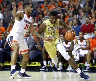 Georgia Tech Virginia Basketball