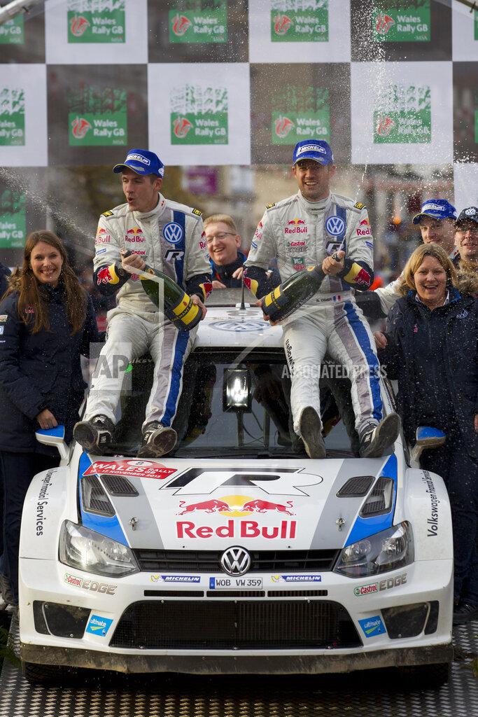 Britain Wales Rally Auto Racing
