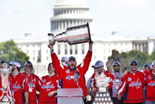 Capitals-White House Hockey