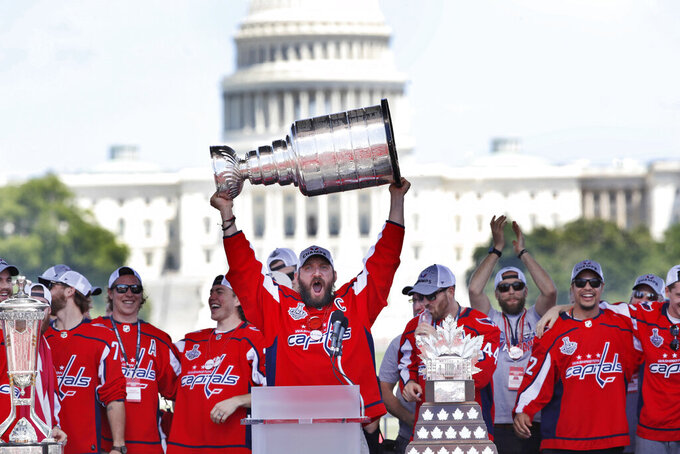 Stanley Cup champion Capitals to visit Trump at White House